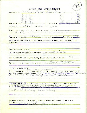 Mount Sinai Baptist Church Records page 1