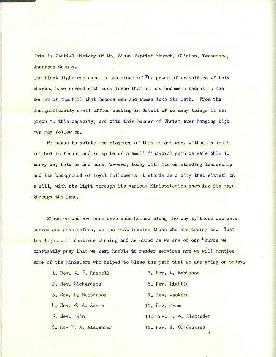 Mount Sinai Baptist Church Records page 2
