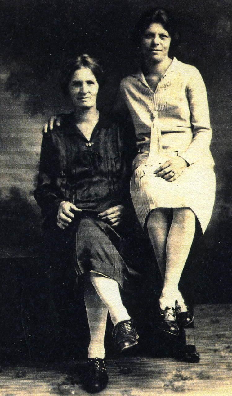 Hattie Green Harper and Lucille