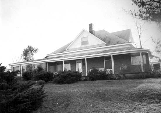 Dick morgans house on third street