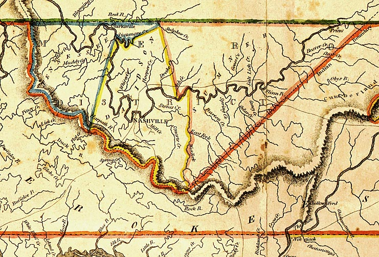 Maps OF Smith County - Detailed map of tennessee