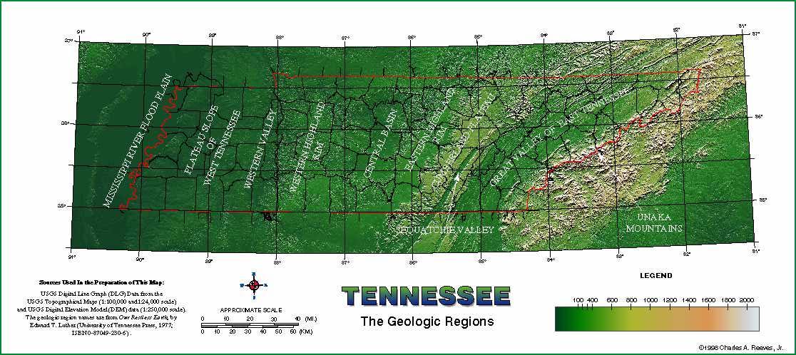 Tn Elevation Map.Tngenweb Tn Topography Maps