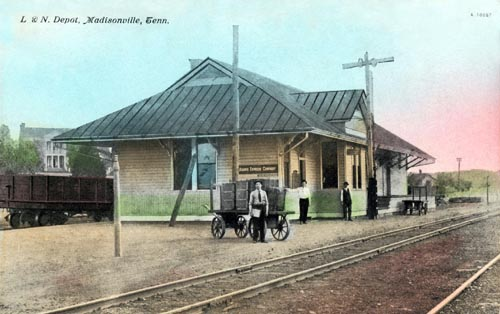 L&N Train Depot - Madisonville, TN