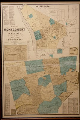 History Of Montgomery County Tennessee