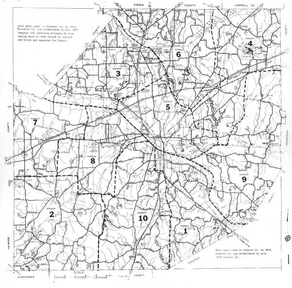MAPS OF MADISON COUNTY TENNESSEE