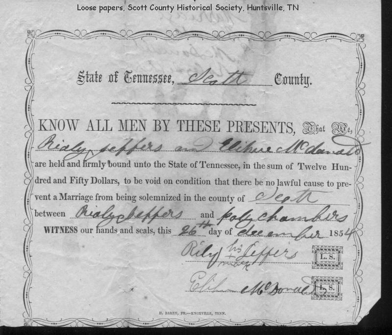 stephen tucker marriage license of tennessee